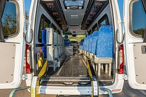 StyleBus Mercedes Sprinter Handicapped Bus White 16+1+1 Seats